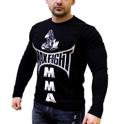 MAX FIGHT - ТЕНИСКА С ДЪЛЪГ РЪКАВ БОЙЦИ NEW