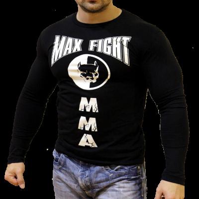 MAX FIGHT - ТЕНИСКА С ДЪЛЪГ РЪКАВ - ПИТБУЛ