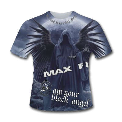 MAX FIGHT - BLACK ANGEL T-SHIRT