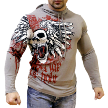 MAX FIGHT- Sweatshirt - Skulls