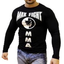 MAX FIGHT - T-shirt - long sleeves- pitbull