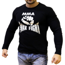 MAX FIGHT - T-shirt - long sleeves - Fist