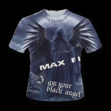 MAX FIGHT - BLACK ANGEL T-SHIRT