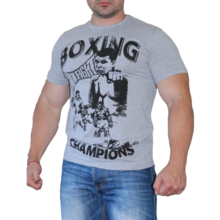 MAX FIGHT BOXING Т-shirt - grey melange