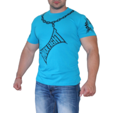 MAX FIGHT CHAIN T-shirt - electric blue