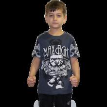 MAX FIGHT Kids' T-shirt Pitbull  Graffiti - short sleeves