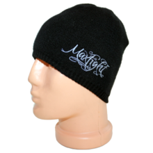 MAX FIGHT - Men's Knitted Black Hat