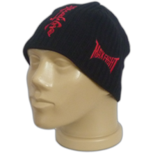 KYOKUSHIN Knitted black Hat with fleece