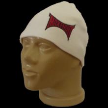 Гладка бяла шапка MAXFIGHT