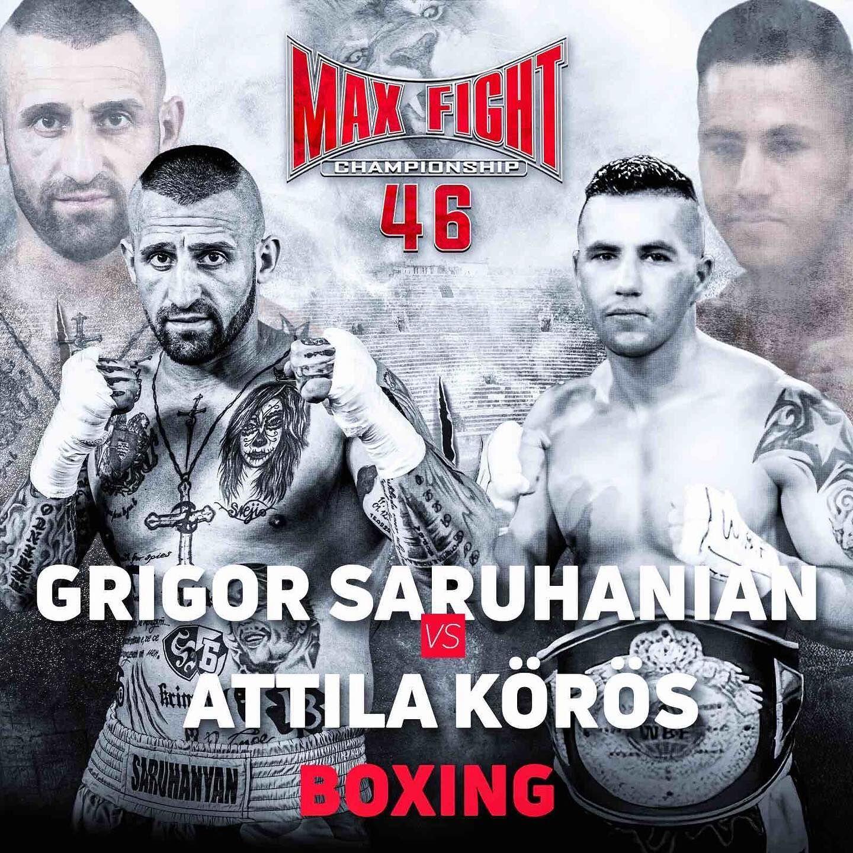 Григор Саруханян срещу Атила Кьорош