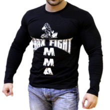 MAX FIGHT - ТЕНИСКА С ДЪЛЪГ РЪКАВ БОЙЦИ