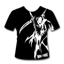 MAX FIGHT - MMA - EVIL-T-SHIRT - BLACK