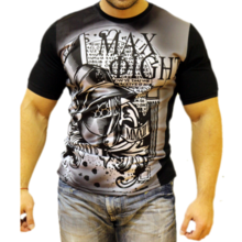 MAX FIGHT short- sleeved T-shirt HELMET 2