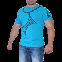 MAX FIGHT CHAIN ТЕНИСКА - Син електрик