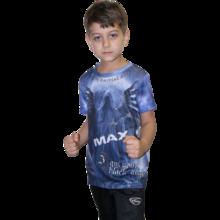 MAX FIGHT - Детска тениска BLACK ANGEL