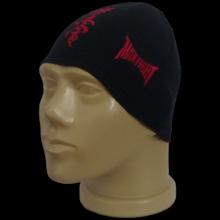 Гладка черна шапка KYOKUSHIN