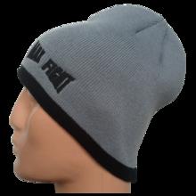 Мъжка плетена шапка MAX FIGHT - сива