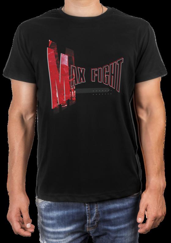 Черна Тениска - MAX FIGHT